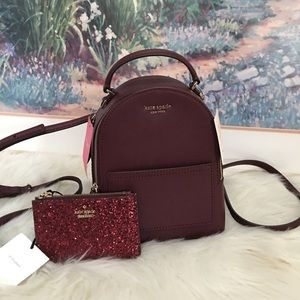 Kate spade convertible mini backpack with wallet